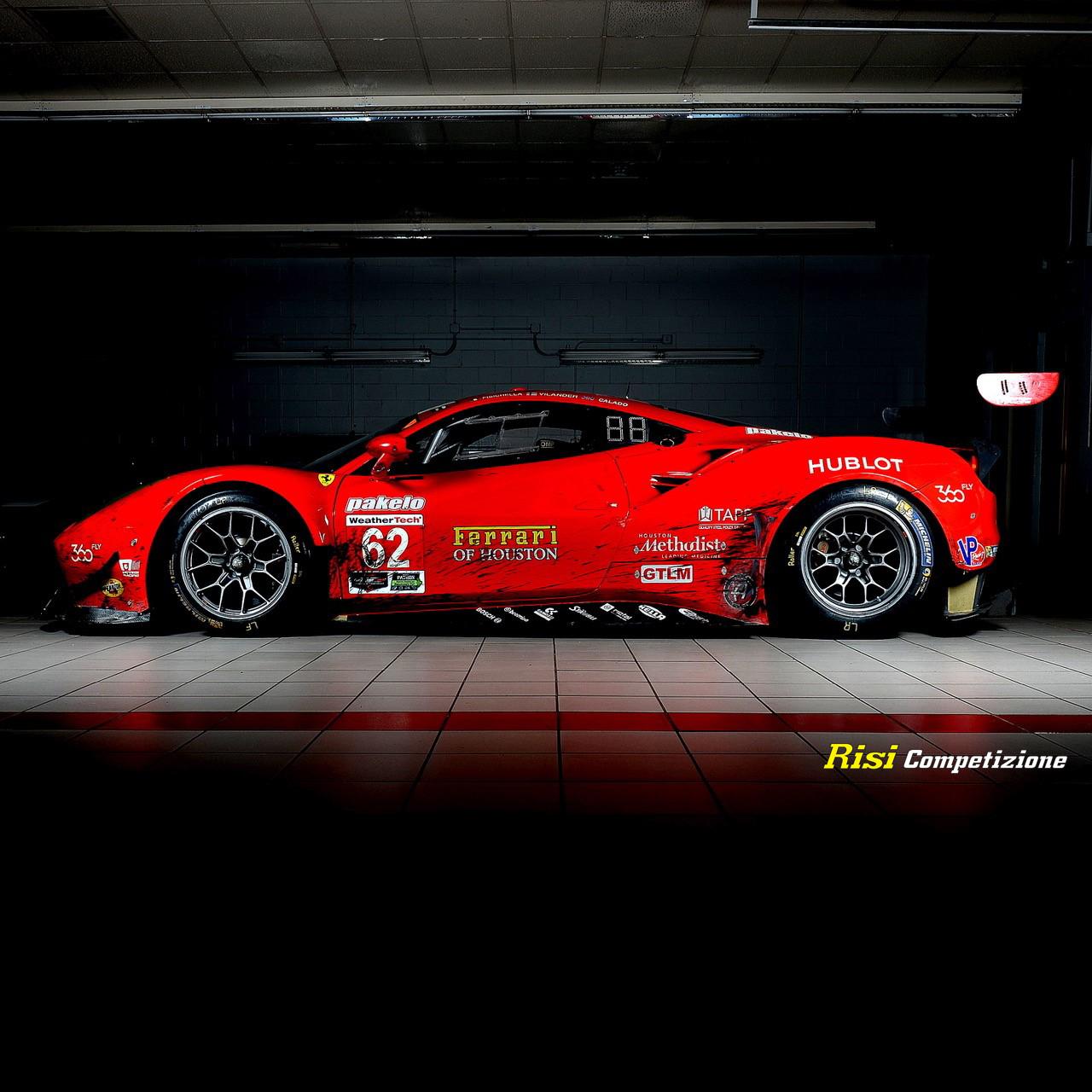 62 Risi Competizione Ferrari 430 Gt: 24H SERIES Let's Intoduce The American Team Risi Competizione